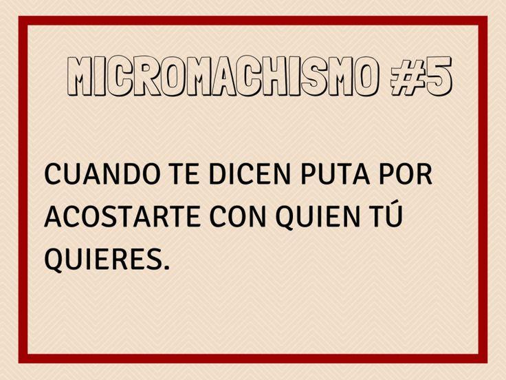 Micromachismo #5