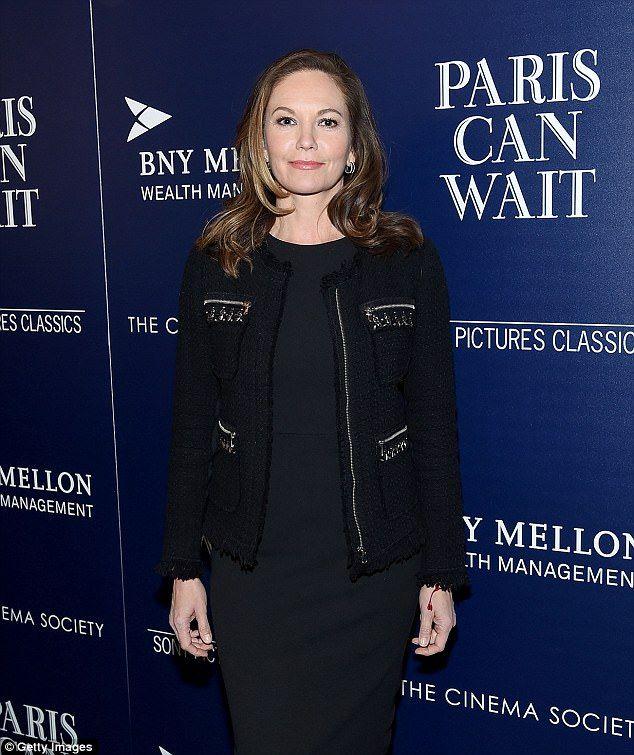 Diane Lane looks sensational on red carpet for new film | Daily Mail Online