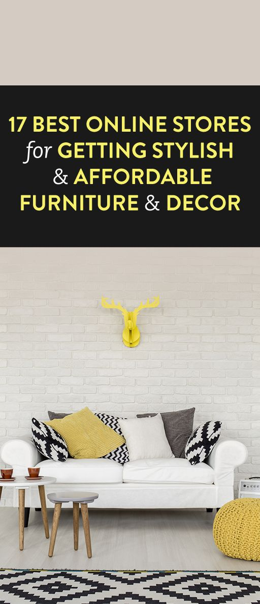 17 Best Online Stores for Getting Stylish and Affordable Furniture and Decor. Best 25  Affordable furniture ideas on Pinterest   Cheap couch