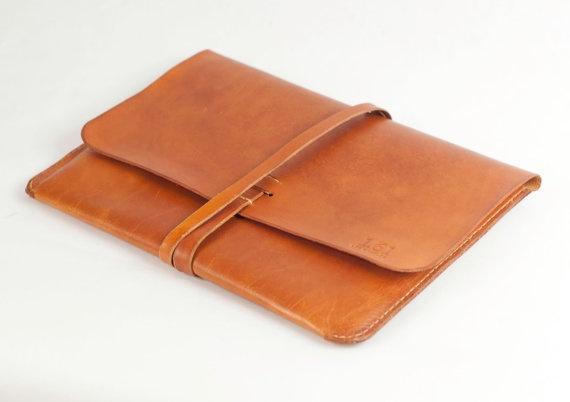 iPad Case iPad Portfolio - Leather, Hand-Stitched, Top Grade: Handstitch Tops, Leather Ipad, Ipad Cases, Portfolio Leather, Leather Tops, Cases Ipad, Ipad Sleeve, Leather Handstitch, Ipad Portfolio