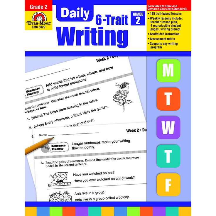 daily 6 trait writing Daily 6-trait writing, grade 4 [evan moor] on amazoncom free shipping on qualifying offers learning how to write clearly as a child can lead to a lifetime of benefits, both in the classroom and in the work environment the evan-moor daily 6-trait writing workbook for grade 4 enhances what fourth graders are learning in school by providing.