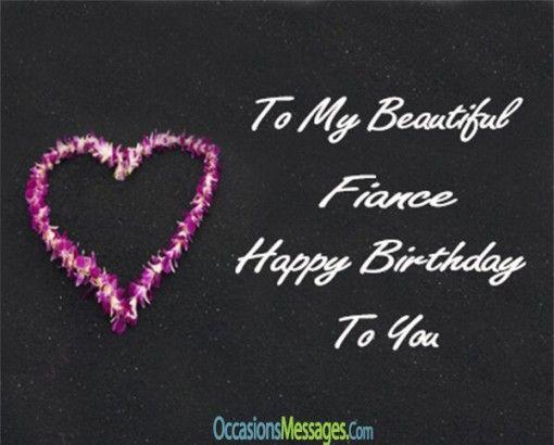 Birthday Wishes for Fiancé