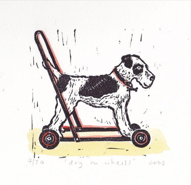 dog on wheels £40.00