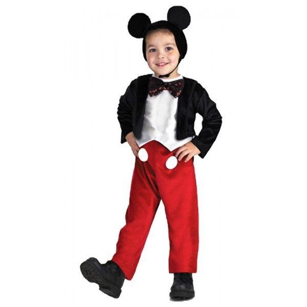 Deluxe Mickey Mouse kostuum voor jongens