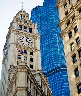 World's Most Beautiful Clock Towers: Wrigley Building, Chicago