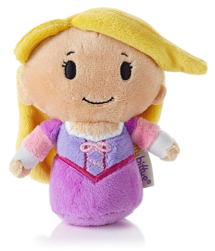 Tangled fans will love this cute and tiny version of Rapunzel with her beautiful long hair. #ittybittys @influenster