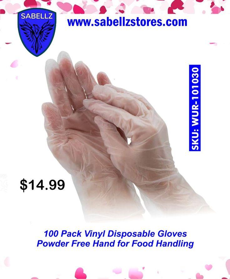 food handling gloves powder free