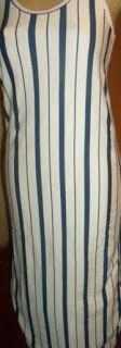 Brecho Online - Belas Roupas: Vestido de Listras