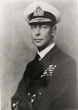 Postcard Photo His Majesty King George VI of Great Britain