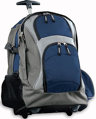 Rolling Backpack BEST  School BAG or Travel Bag Wheeled Bags CARRYON with Wheels
