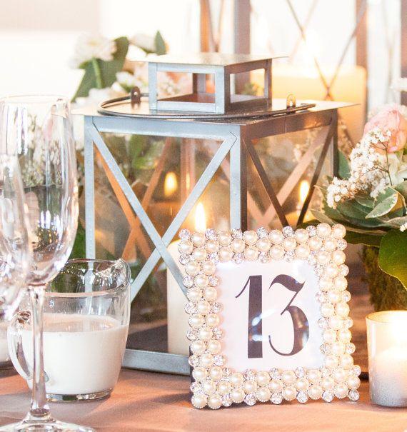 Medium Metal Wedding Lantern Centerpiece and Decoration by HauteHAUSshop