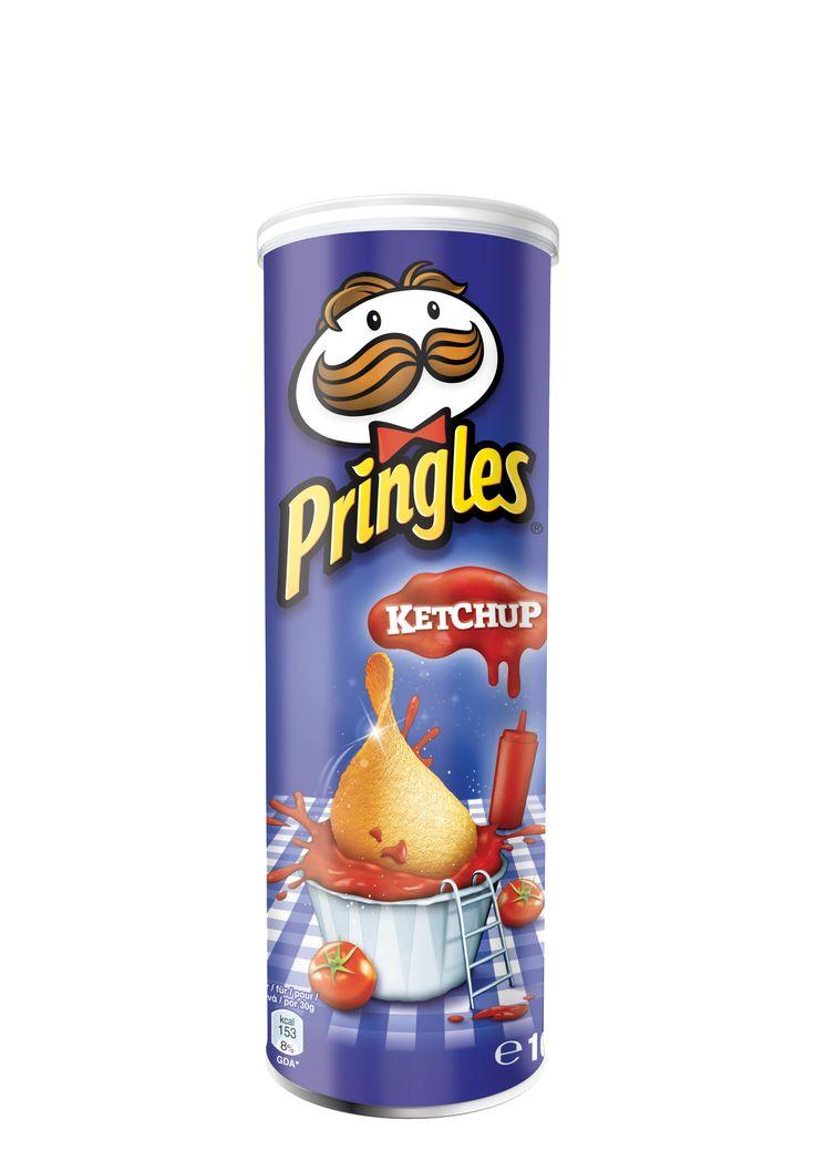 Pringles Ketchup Snack
