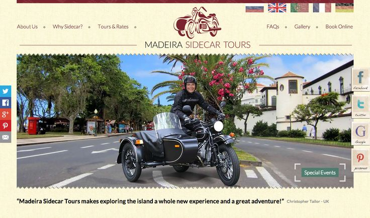 Check the Madeira Sidecar Tours website!  http://www.madeirasidecartours.com/