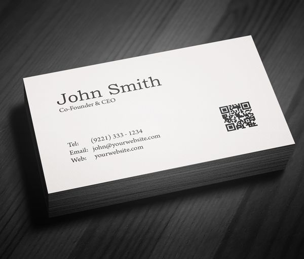 Best Minimal Business Card Ideas On Pinterest Black Business - Free business cards templates
