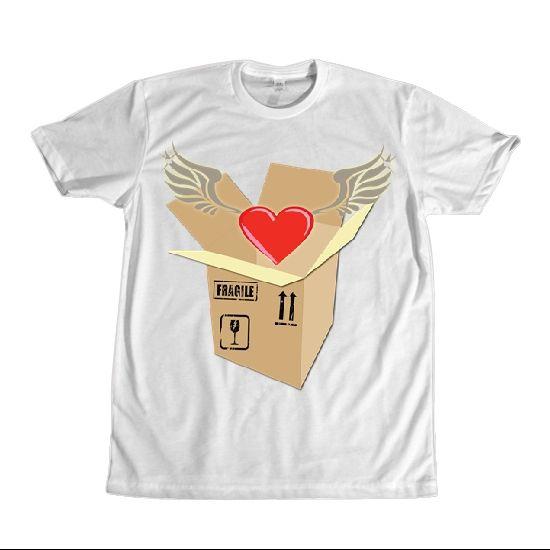 Heart dari Tees.co.id oleh Wolliepops