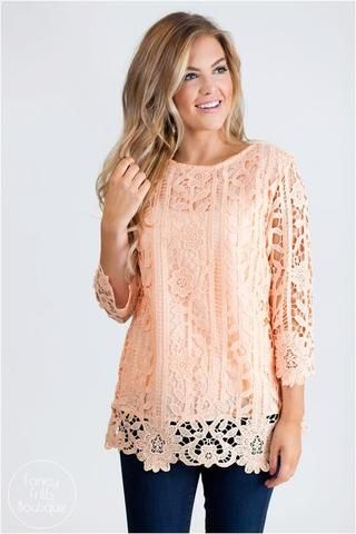 Lux Lace Tunic