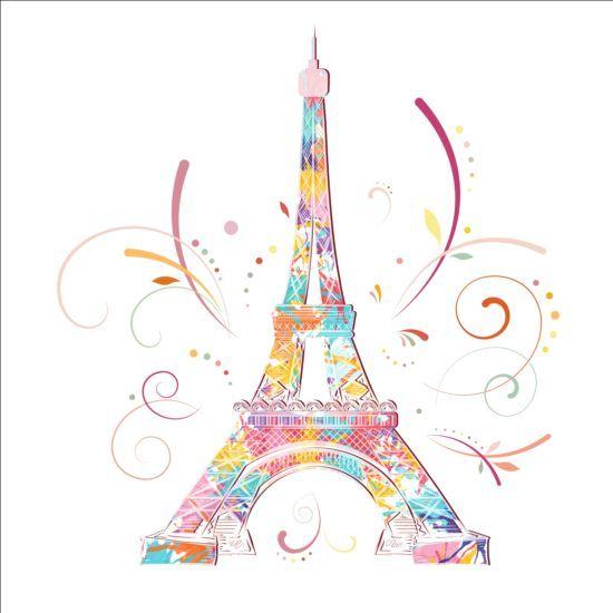paris eiffel tower beautiful background