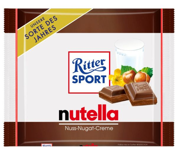 Ritter SPORT - nutella ... please!