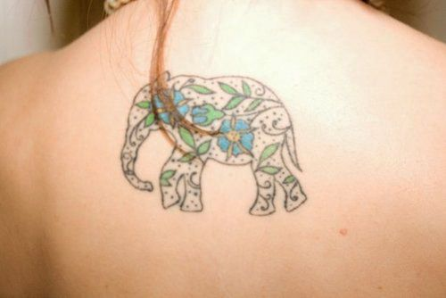 47 best Elephant Footprint Tattoos images on Pinterest ...