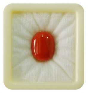 ITALIAN ASTROLOGICAL CORAL 6.6 CT