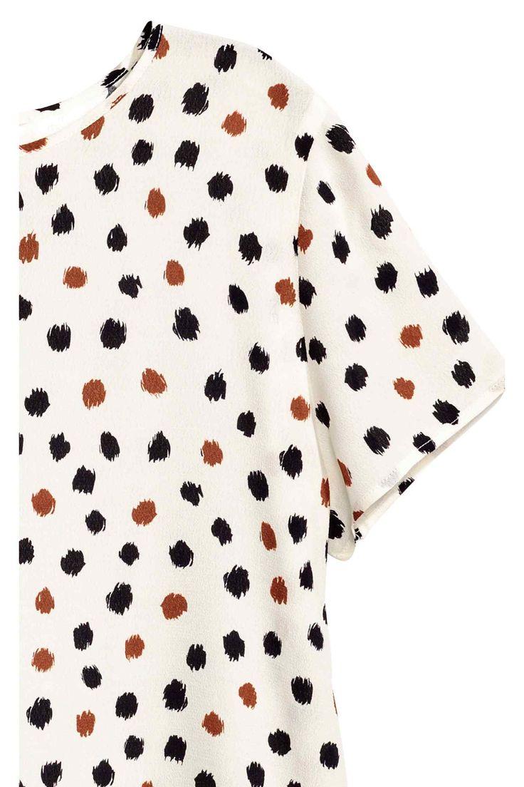Блузка с коротким рукавом | H&M