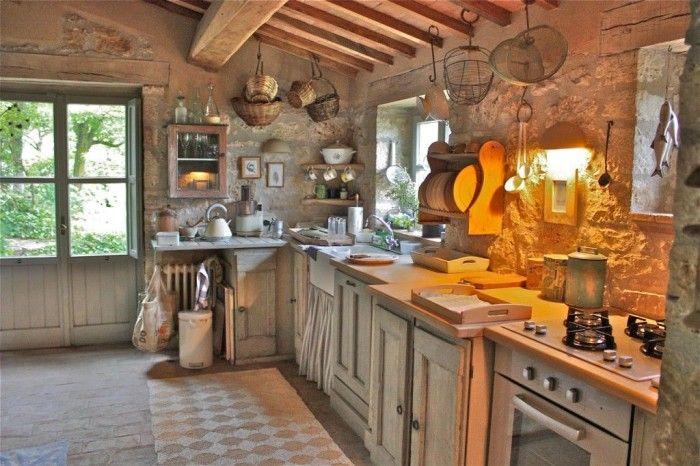 Probably too rustic, but I'd feel like I was in an old Italian kitchen!
