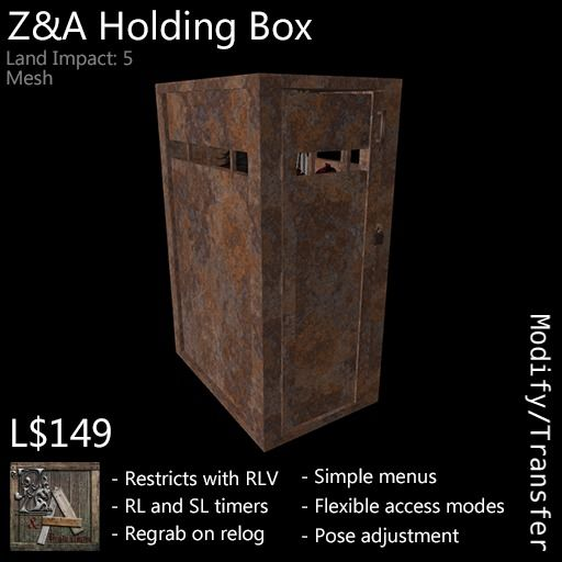 Z&A Holding Box (Rust)