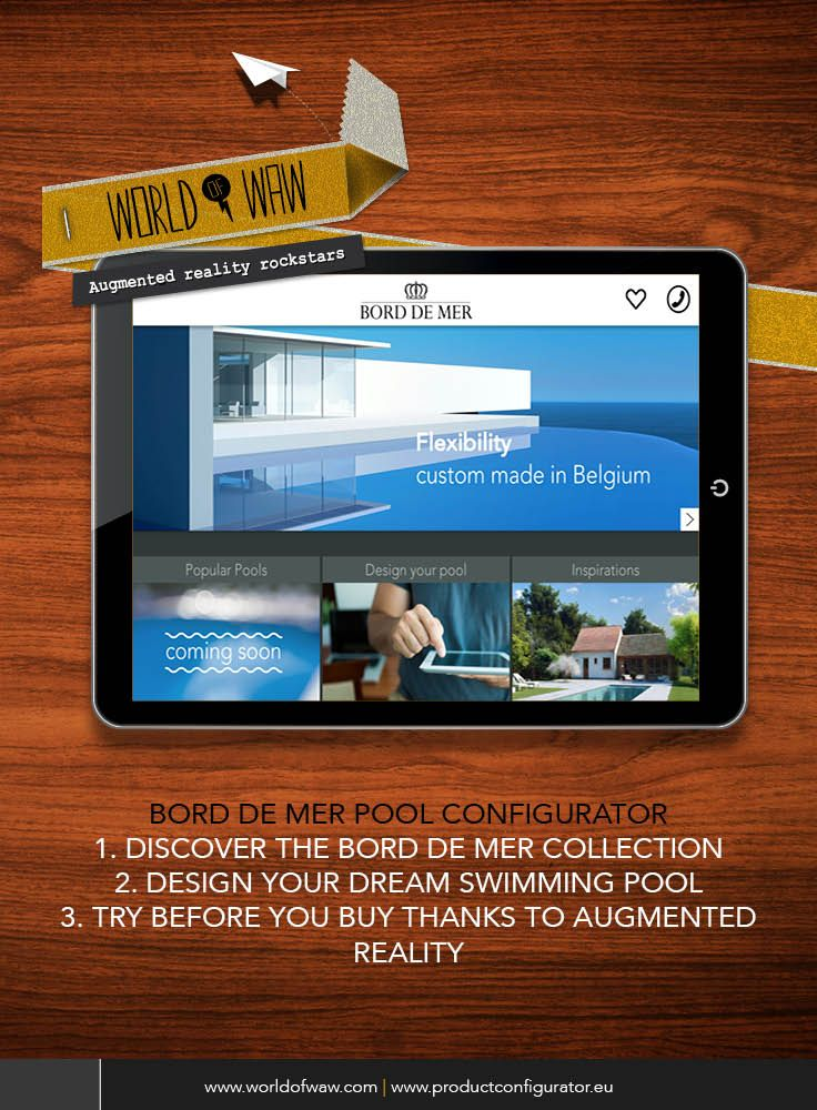 the bord de mer pool configurator is the ultimate pool planner discover all pool models design your dream swimming pool and try it out in your garden