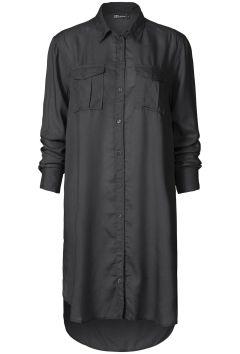 Lange blouse rayon Zwart