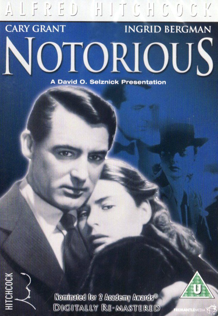 a movie analysis of notorious by alfred hitchcock Notorious woman of affairs adventurous man of the world synopsis following the conviction of her german father for treason against the us, alicia huberman takes to drink and men.