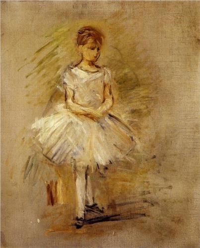 Little Dancer - Berthe Morisot, 1885