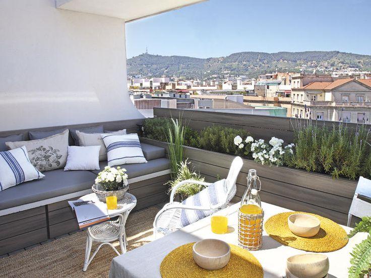 #Ático en Barcelona con vistas al #Tibidabo