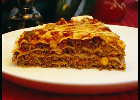 Beef Tortilla Stack