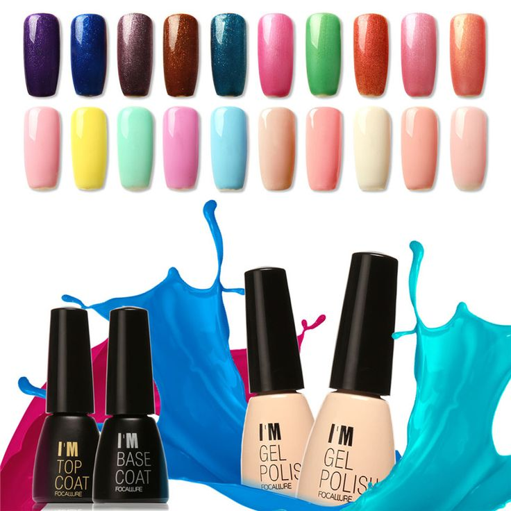 Jestem focallure żel polski nail art design zmiana temperatury kolorów żel polski paznokci żelem uv salon nail art lakier