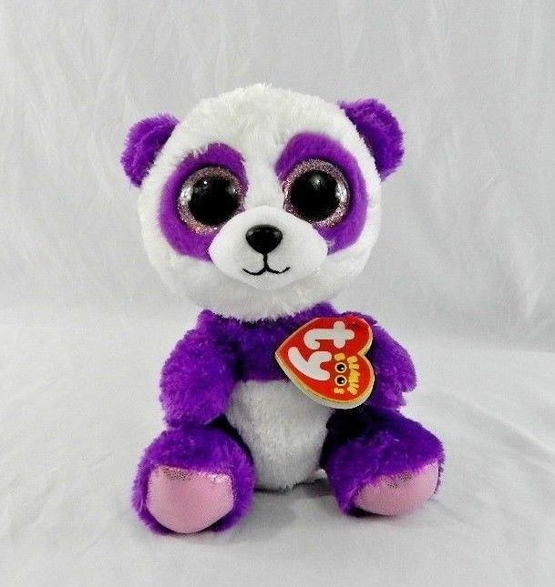 Ty Beanie Boos ~ CANCUN the Chihuahua Dog Purple Tag Regular ~ 6 Inch MWMT