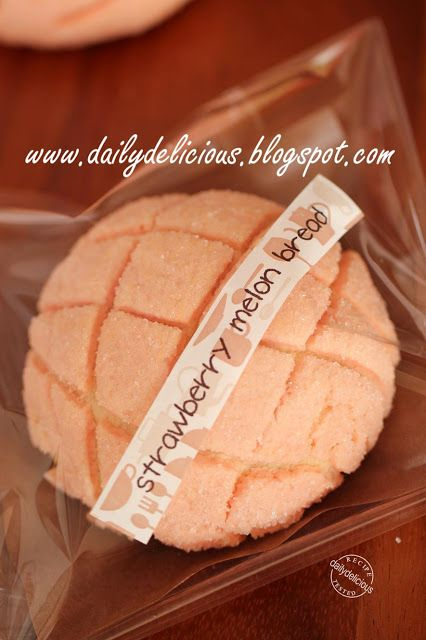 Strawberry Vanilla Melon Bread