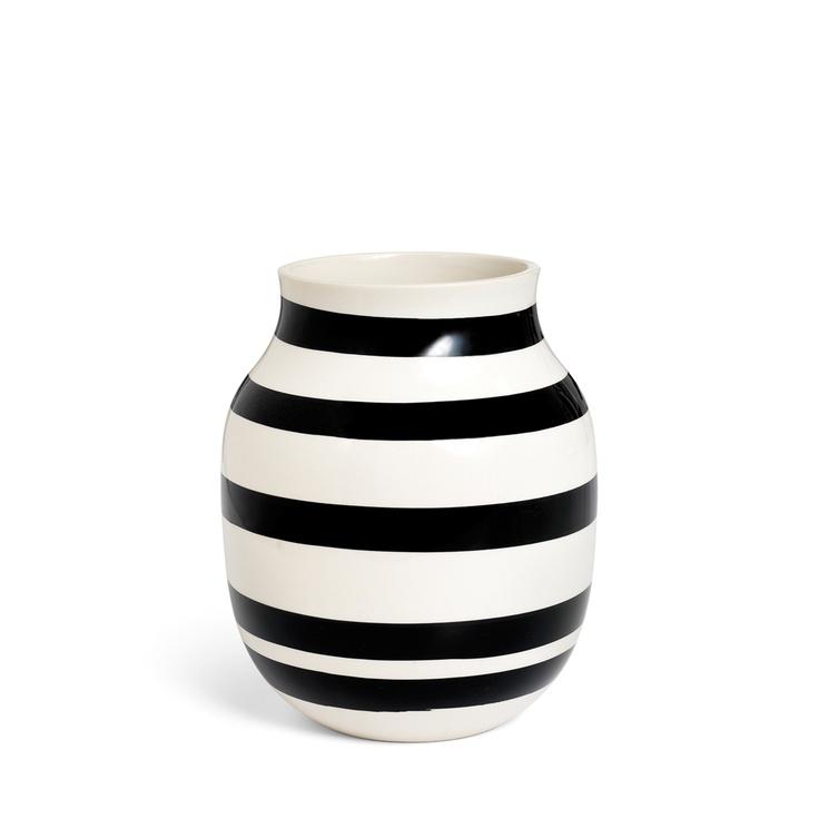 KÄHLER Black Omaggio vase