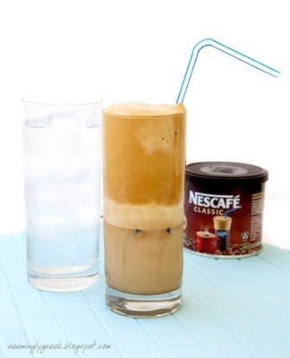 The Greek Frappe: everything they say is true. They can be made anywhere if you order Greek Nescafe on Amazon -- it's oilier, and makes a difference. Easy and fantastic.