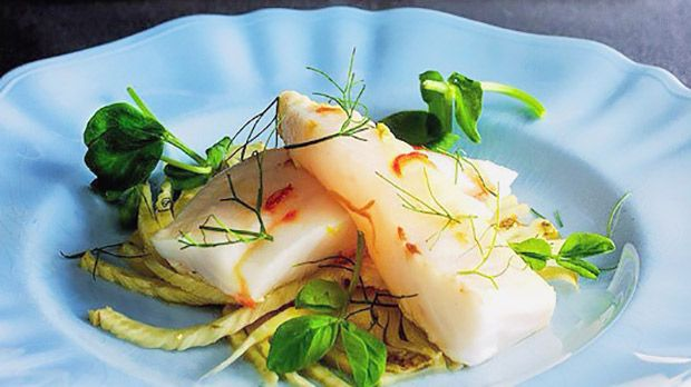 A fast, clean way with fish, especially delicately flavoured fish like John Dory, with braised fennel.