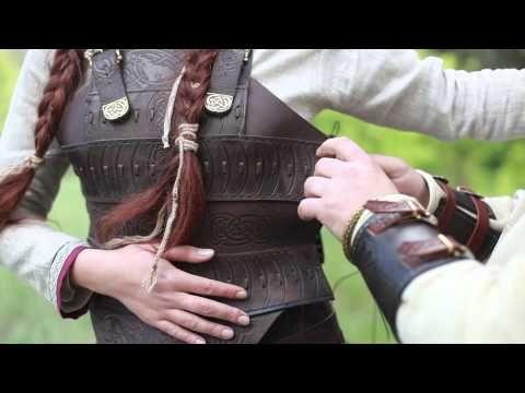 "Frauen-Rüstung: Lederkorsett ""Schildmaid"" :: im mittelalter Shop ArmStreet"