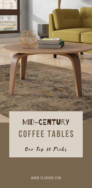 Best Mid Century Modern Coffee Tables Wayfair Top 10 Cluburb In 2021 Mid Century Modern Coffee Table Modern Coffee Table Decor Mid Century Coffee Table [ 1500 x 735 Pixel ]