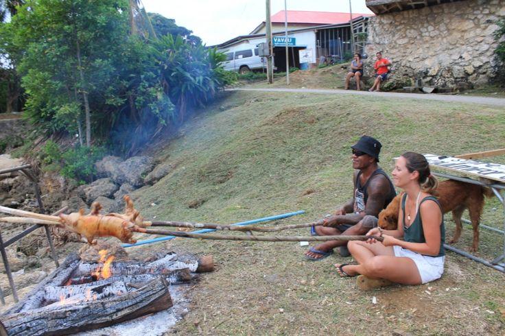 Lard de bien préparer le #cochon...#Tonga