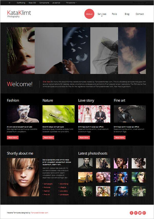 35 Best Free Online Portfolio Themes for Photographers