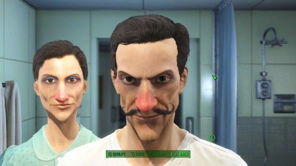 Here S Waluigi In Fallout 4 Fallout 4 Faces Memes Photoshop Battle