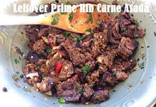 Leftover {Prime Rib} Carne Asada | Theblogfairytest's Blog