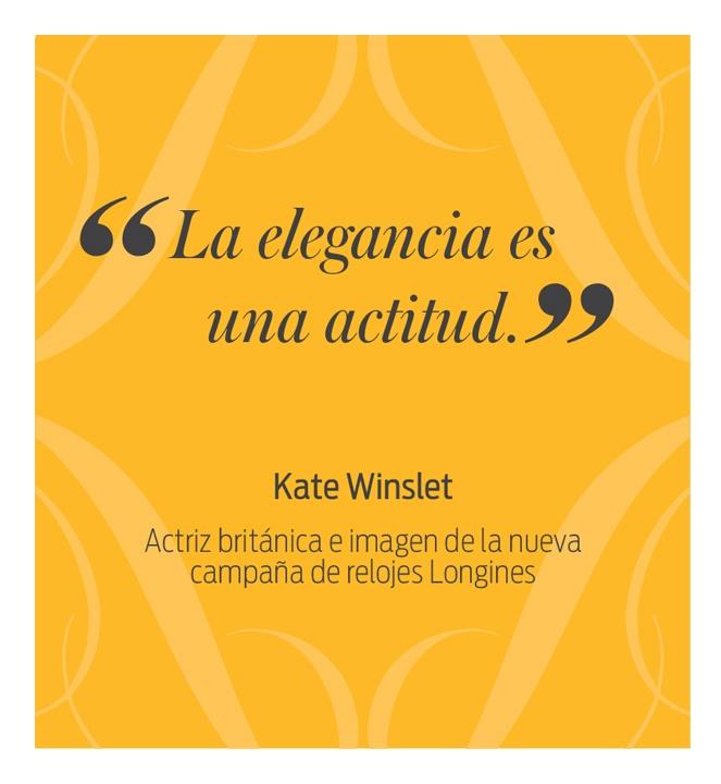 Kate Winslet - El Palacio de Hierro
