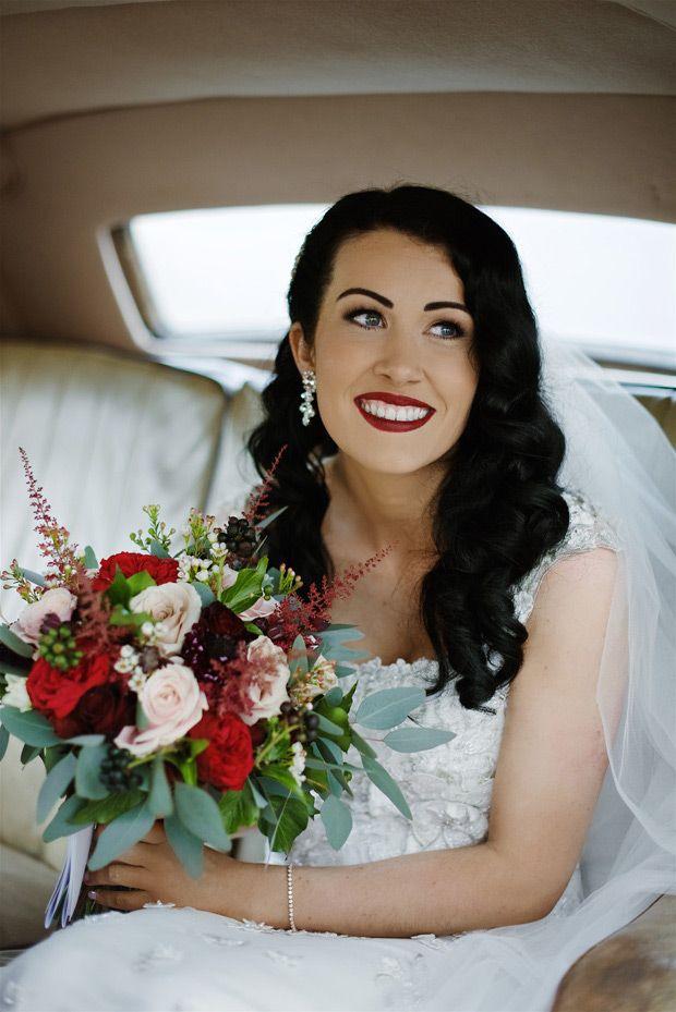 Gorgeous Gatsby Inspired Winter Wedding // www.onefabday.com