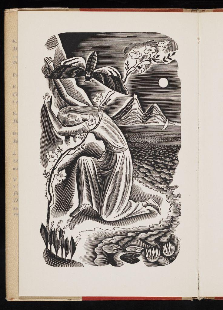 "Cyril Bouda, illustration for ""Máj, báseň"" (1940) by Karel Hynek Mácha"