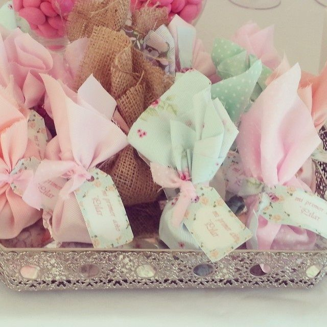 Favors at a Shabby Chic Party