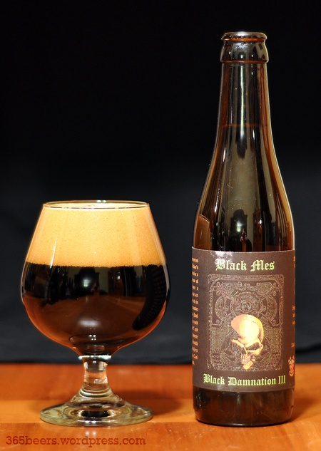 Black Mes Imperial Stout - Black Damnation III